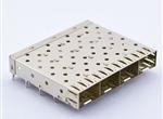 SFP 1X4CAGE(焊接脚)(白铜) 无CZT