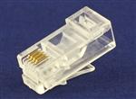 水晶头6P4C长身普通(KB方孔)