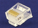 水晶头8P8C短身(CZT方孔)