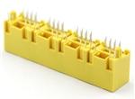 5224-LED四胞插座 8P 带灯 高度15.6