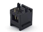 5222 6P 带插芯(623PCB-TI)插座 6P (有耳)脚径3.3