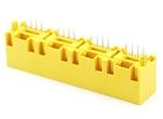 5224-LED四胞插座 8P 无灯 高度15.6