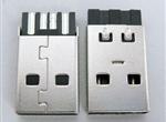 USB A 公短体焊线式