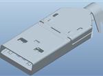 USB-A公刺破式