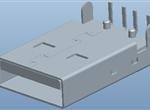 USB A 公 DIP 90度