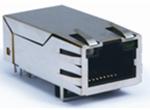 TAB-UP 1英寸 单排6PIN 6U 带弹片 带LED 4个磁环 左绿橙右黄 脚前3.17