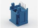 52 RJ45单胞插座 180度 16.3高 配1.2板