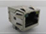TAB-UP 0.85英寸 8P8CS 6U 带弹片 带LED 4个磁环 后脚3.05 左黄右绿 竖排LED