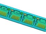 RJ45_1X4S沉板式插座(CAT5E) 通孔回流焊