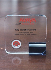 "2015 was awarded as ""main supplier prize"" by AVAYA."